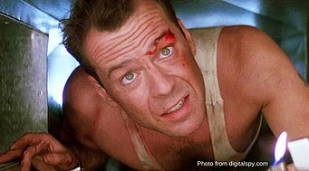 Picture of Bruce Willis from Die Hard